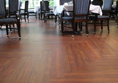 Healthcare Wood, Brazilian Cherry | Chartwell Martha's Landing Retirement Residence