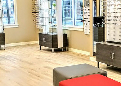 DSGN Tuscany Oak Snow | Eye Doctors of Lancaster