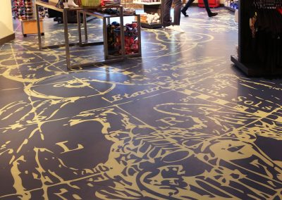 Custom Printed Floor | Planet Hollywood