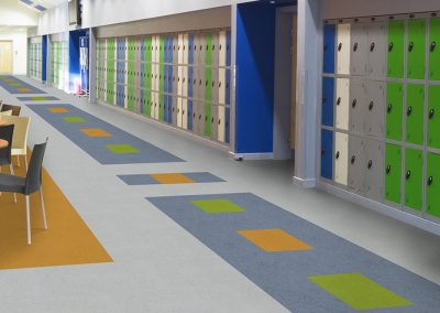 SPRK various colors | School Hallway